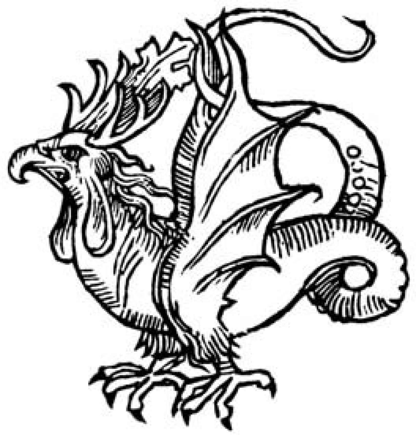 Basilisco, en el bestiario medieval.