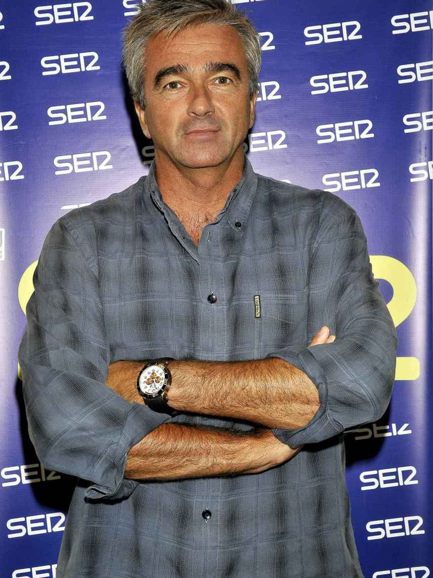 Carles Francino durante la presentación de la programación de La Ser hace diez años.