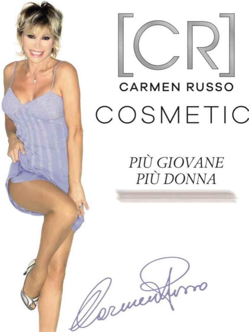 Imagen promocional de su marca de cosmética.