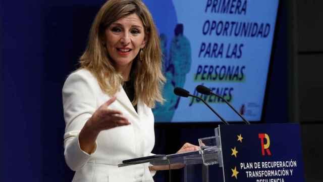 Yolanda Díaz, vicepresidenta tercera de Trabajo y Economía Social.