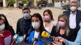 Ruth Merino, síndica de Cs en las Cortes valencianas, este lunes en Alicante.
