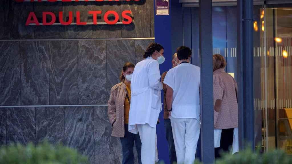 Entrada a urgencias del Hospital Universitario Central de Asturias (HUCA). EFE/Alberto Morante