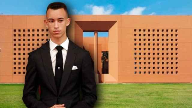 El príncipe Moulay Hassan de Marruecos junto a la Universidad Politécnica Mohamed VI en un montaje de Jaleos.