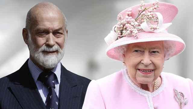 Michael Kent y la reina Isabel, en un fotomontaje de JALEOS.