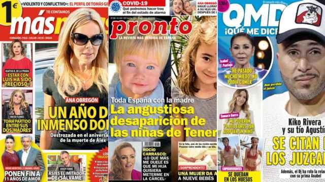 Kiosco rosa: Ana Obregón, destrozada, ante el aniversario de la muerte de su hijo Álex