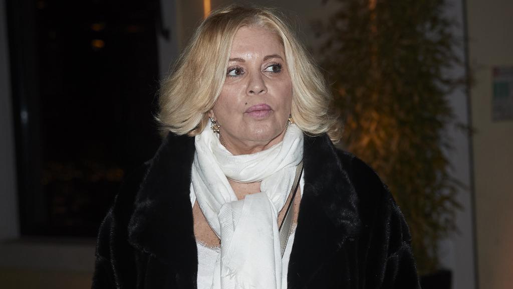 Bárbara Rey, durante su 70 cumpleaños en Madrid.