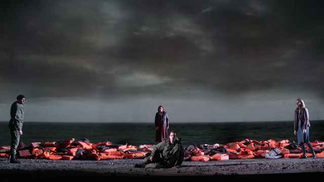 Escena de la ópera 'Idomeneo', de Mozart.