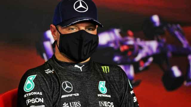 Valtteri Bottas en el Gran Premio de España de Fórmula 1