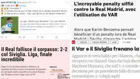 Las crónicas de BeIN, L'Equipe, Gazzetta y Corriere del Real Madrid - Sevilla