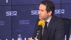 García Egea en entrevista a la Cadena Ser.