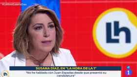 Susana Díaz, secretaria general del PSOE de Andalucía, en TVE.