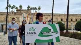 La parlamentaria andaluza Teresa Rodríguez.