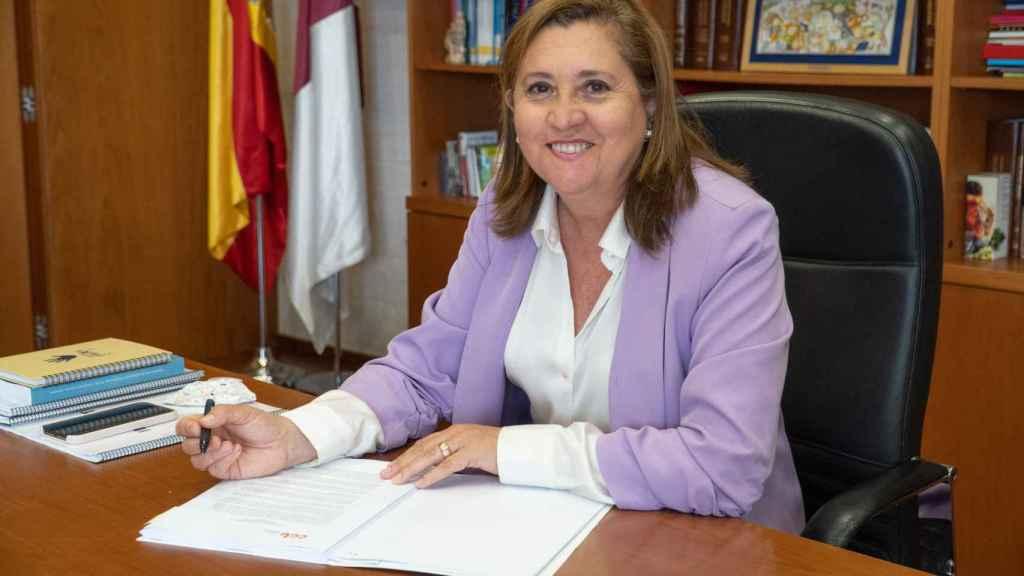 Rosa Ana Rodríguez, consejera de Educación, Cultura y Deportes de la Junta de Castilla-La Mancha.