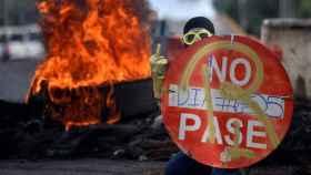 Protestas en Cali contra el Gobierno de Iván Duque.