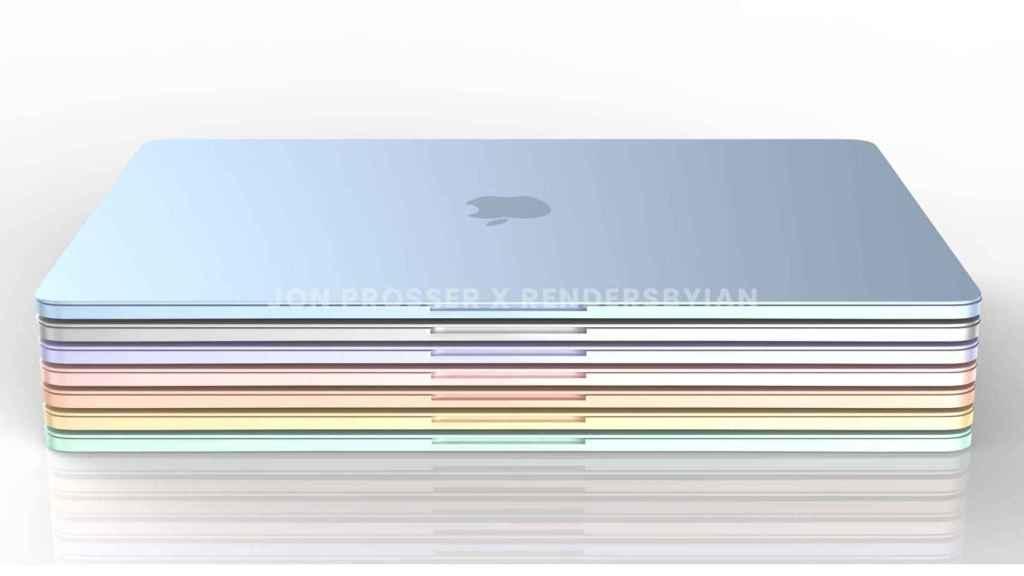 Posibles nuevos colores para el MacBook Air