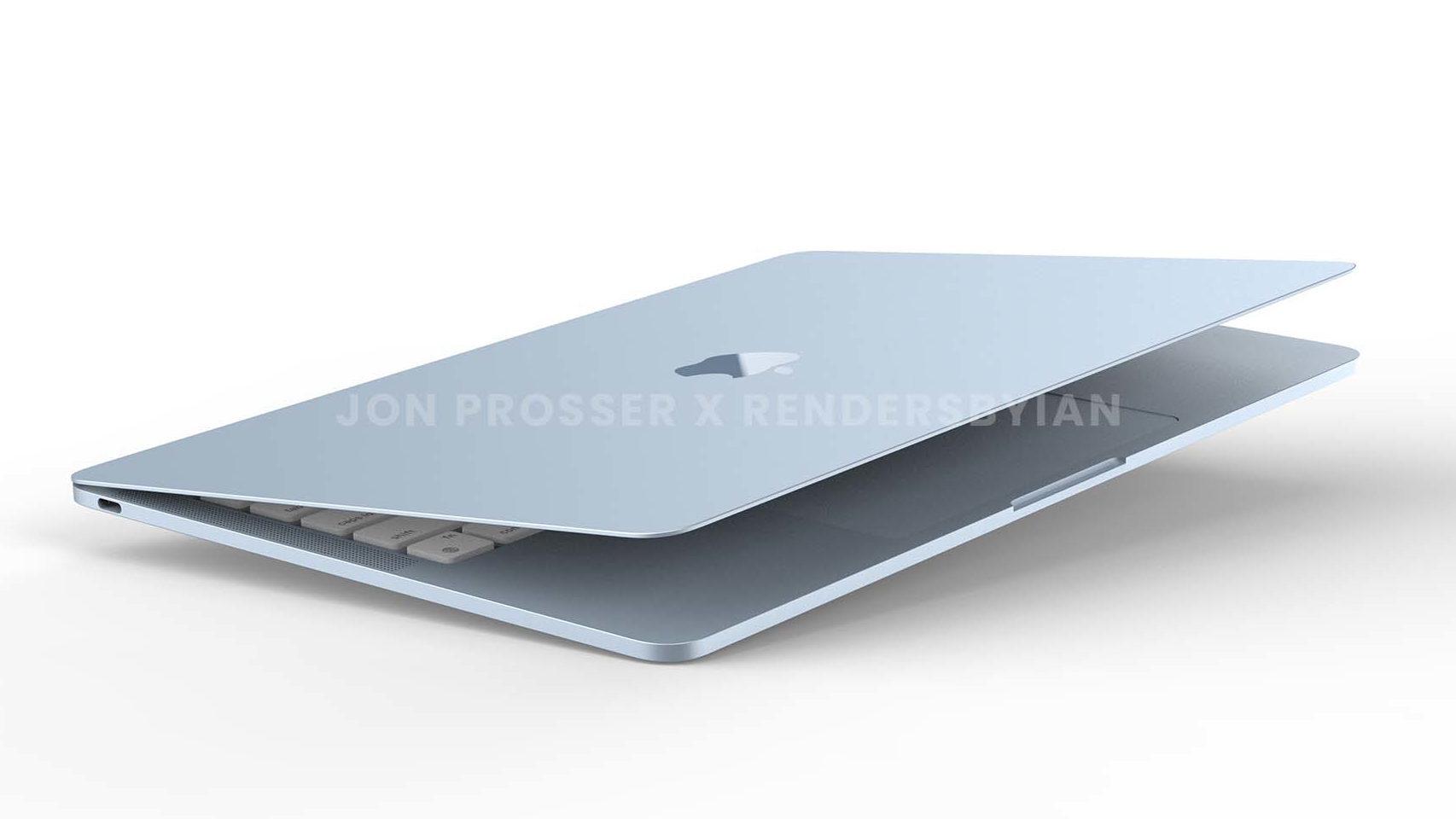 Posible diseño del nuevo MacBook Air