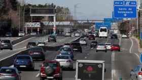 Salida de la A-6, carretera de La Coruña.