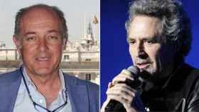 José Manuel Soto y Miguel Ríos en un fotomontaje.