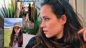 Carolina Monje en alguna de sus imágenes de su escapada a Portugal en un montaje de JALEOS.