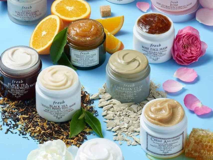 Algunos de los productos de Fresh.