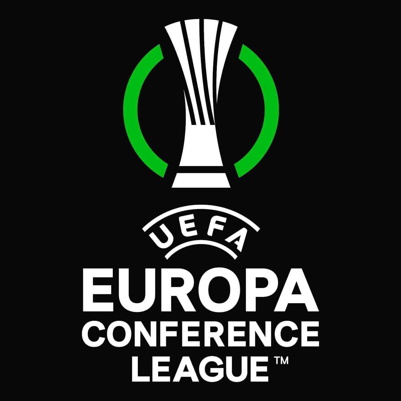 El logo de la nueva Conference League de UEFA