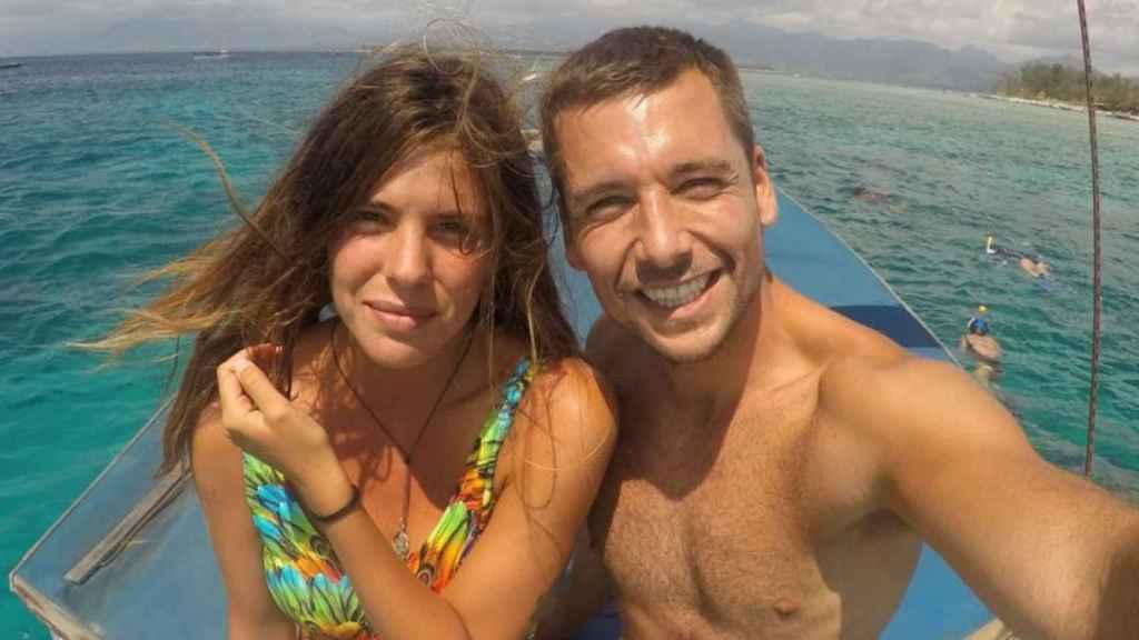 Laura y Benji en una de las muchas imágenes que han compartido en sus redes desde que comenzaron su relación.