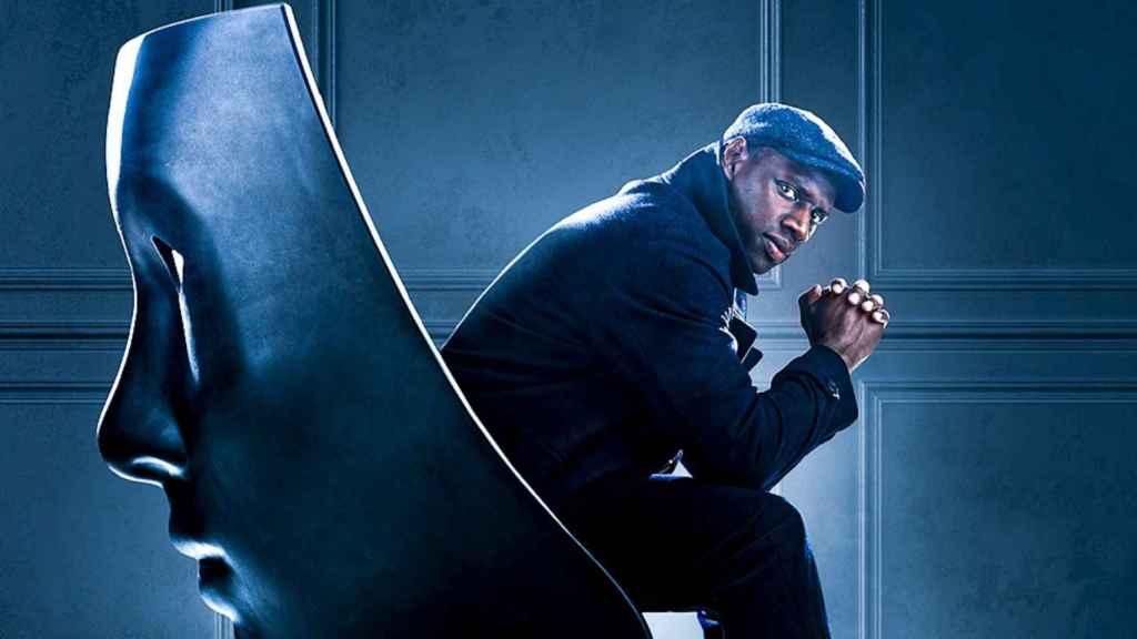 Omar Sy es 'Lupin'.