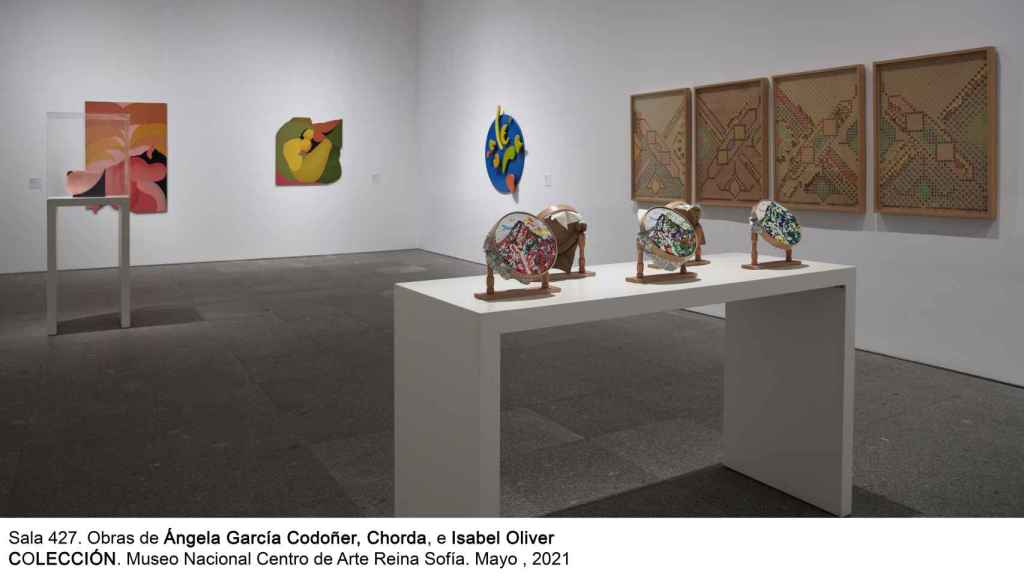 Obras expuestas en la sala Mujeres, Arte y tardofranquismo