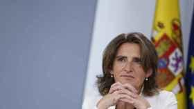 La ministra Teresa Ribera, en un acto reciente.