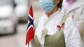 El 17 de mayo se celebra un desfile para festejar el día de la Constitución de Noruega.