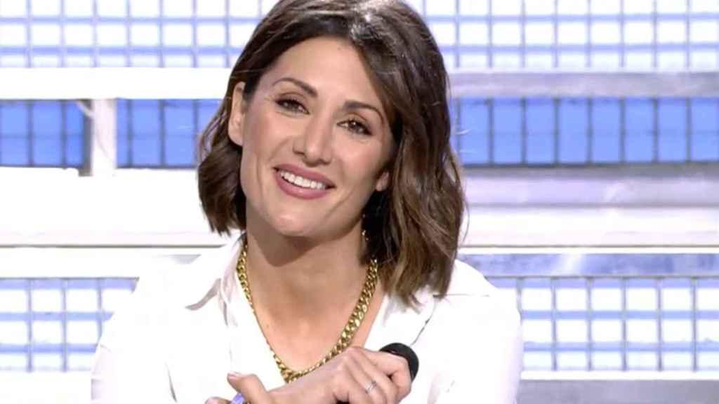 Nagore sustituyó a Toñi Moreno al frente de 'Mujeres y Hombres y Viceversa'.