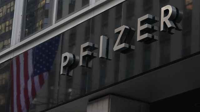 Sede de la compañía Pfizer en Nueva York.