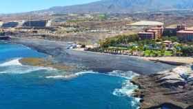 Playa de La Enramada (Adeje, Canarias).