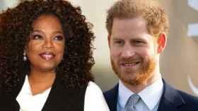 Oprah Winfrey y el príncipe Enrique en un montaje de JALEOS.