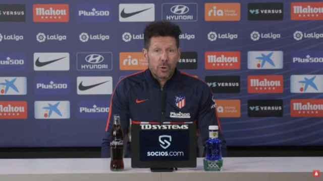 Simeone: El fútbol es más justo con el VAR