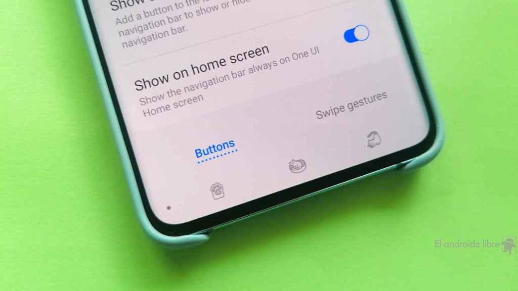 Cómo personalizar la barra de navegación en tu móvil Samsung