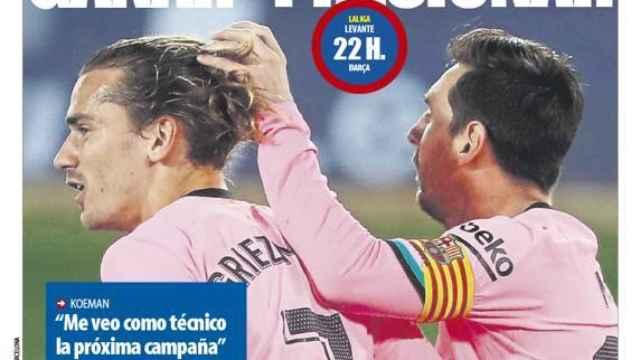 Portada Mundo Deportivo (11/05/21)