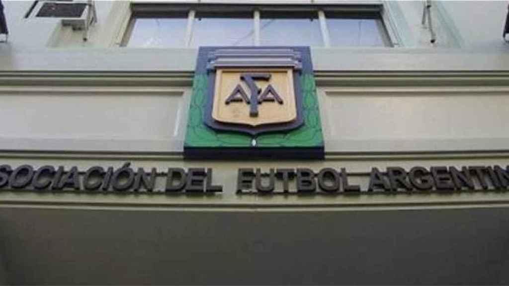 Sede de la AFA en Buenos Aires
