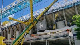Las obras del Santiago Bernabéu