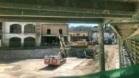 Obras del nuevo Mercadona que se construye en el casco histórico de Talavera. Foto: Cadena Cope