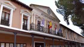 Ayuntamiento de Daimiel (Ciudad Real). Imagen de archivo