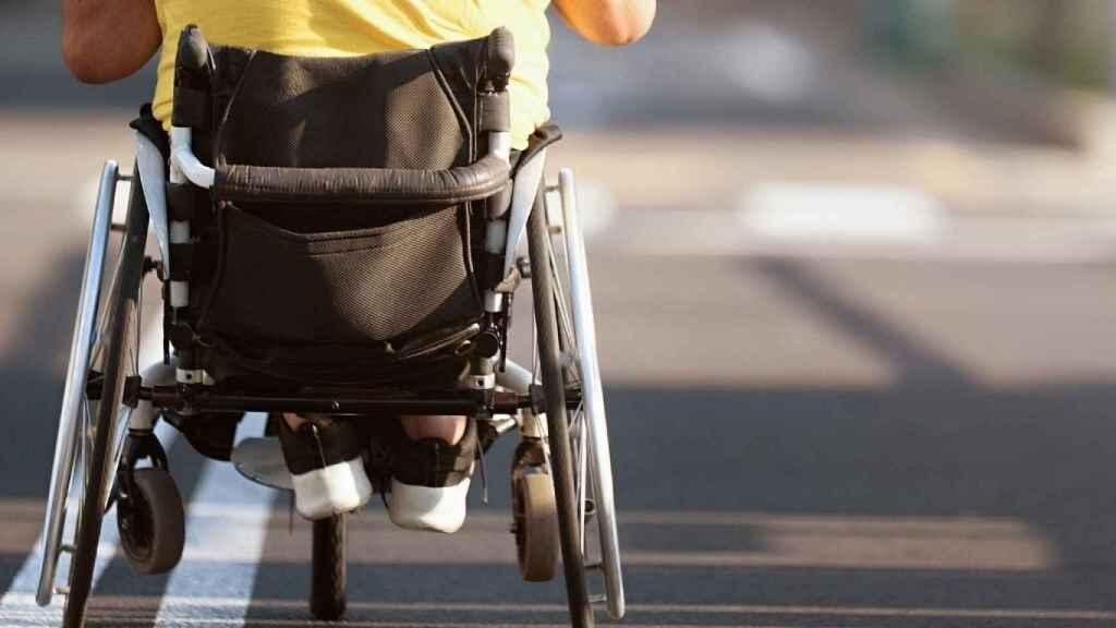 Una persona en silla de ruedas. Europa Press