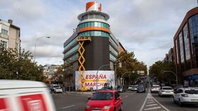Sede de Ciudadanos en la calle Alcalá.