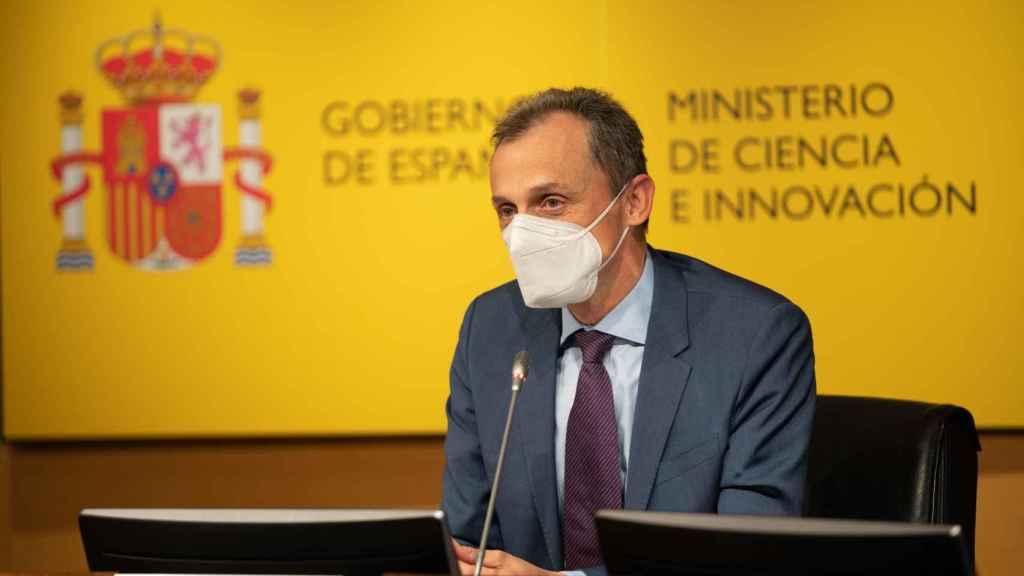 Pedro Duque presenta los fondos europeos para Ciencia e Innovación
