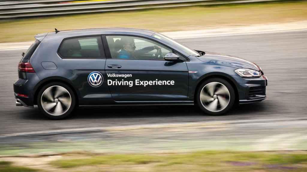 Un momento del Volkswagen Driving Experience.