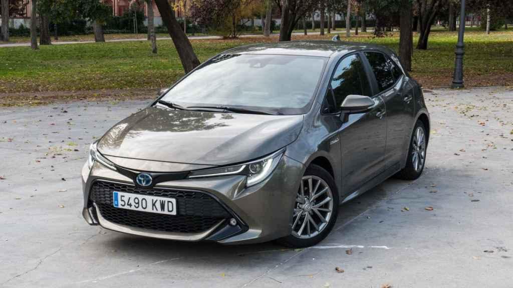 El Toyota Corolla es el coche híbrido más vendido en España.