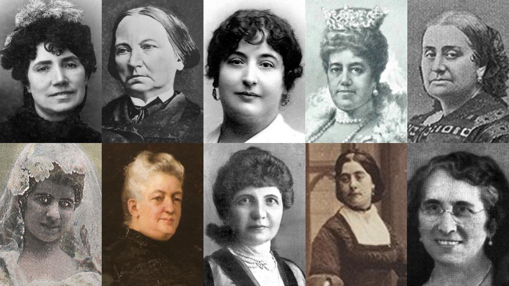 Diez mujeres que rodearon a Emilia Pardo Bazán