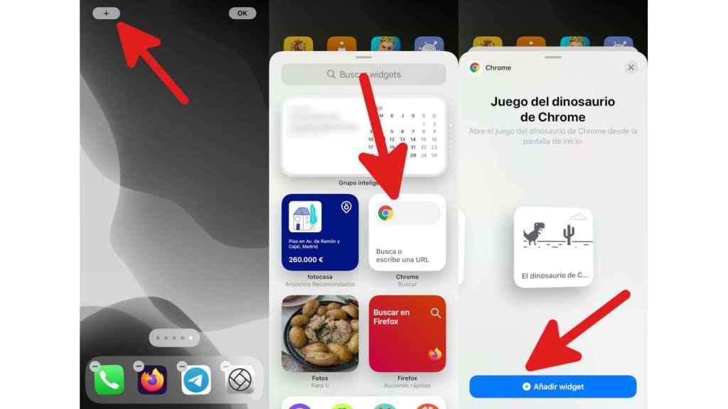 Cómo conseguir el juego del dinosaurio de Chrome en iPhone