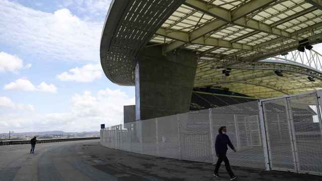 General views of Estadio do Dragao