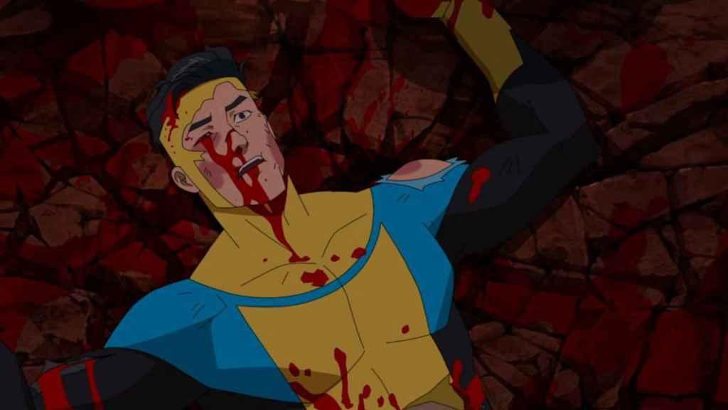 La violencia es uno de los ingredientes estrella de 'Invencible'.